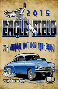 Eagle-Field-Vintage-Drags-2015-Hot-Rod-Gathering-Sign-Bob-Aranas-50-Chevy-Coupe