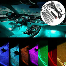 4in1 Car Interior RGB LED Strip Light Atmosphere Decorative SMD Neon Lamp