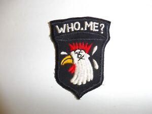 b3774 US Vietnam Novelty Patch 101st