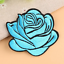 Rose-Patch-Flower-Embroidered-Patches-for-Embroidery-Cloth-Badge-Iron-Sew-On thumbnail 5