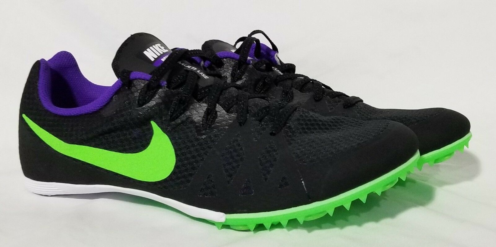 quality design c8cb6 7c41b New Mens US Size 11 NIKE ZOOM ZOOM ZOOM RIVAL MD 8 Track Spikes 806555-