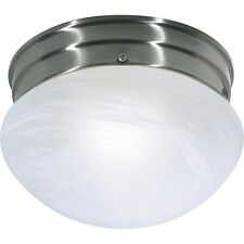 item 5 NUVO 60-2633 WHITE MUSHROOM 1-LIGHT FIXTURE 13W BRUSHED NICKEL (LOT OF 2)**NIB** -NUVO 60-2633 WHITE MUSHROOM 1-LIGHT FIXTURE 13W BRUSHED NICKEL (LOT ...  sc 1 st  eBay & Lot of Alsy Lighting 20358000 2 Light Vanity Fixture Nickel 692574 ... azcodes.com