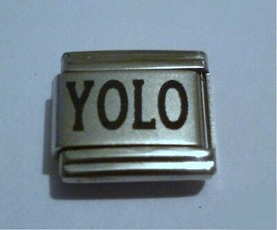 Italian Charm  L40 Text Speak  Emoticons  YOLO  You Only Live Once
