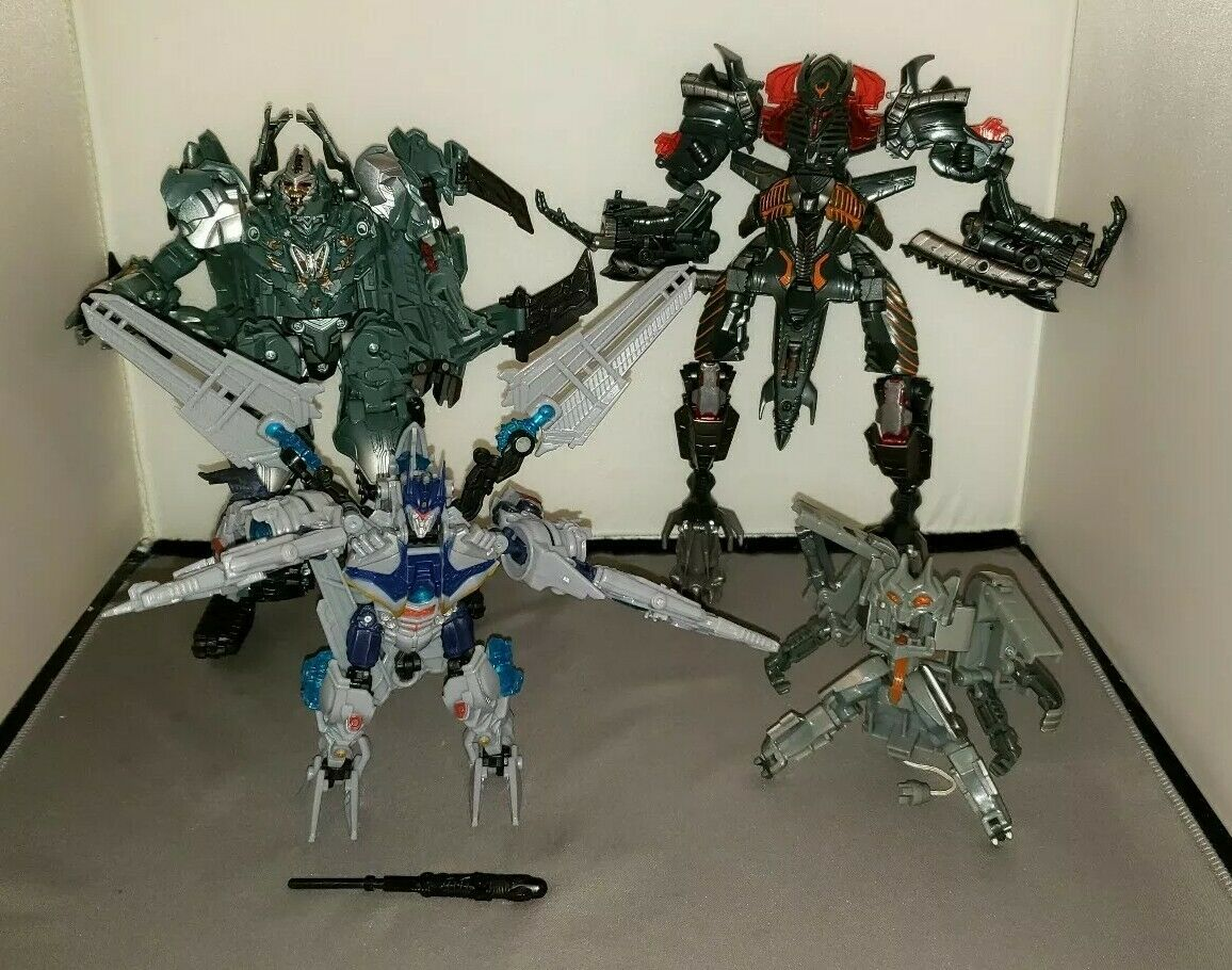 Transformers Decepticons   Ejector, Megatron, Soundwave and The Fallen.
