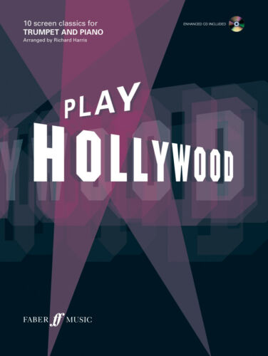 Play Hollywood Film Instrumental Solo Piano TRUMPET FABER Music BOOK /& CD