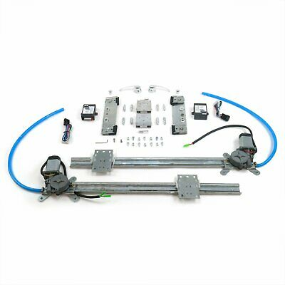 Street Rod Window Switch Kit for 48-56 F1 F100 Ford Truck w//Billet Crank Handles