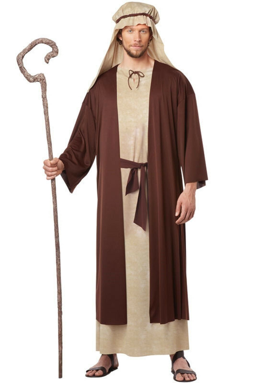 Christmas Nativity Saint Joseph Religious Bible Adult Costume