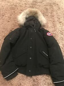 Details about Canada Goose Chilliwack Bomber Black Age 7 8