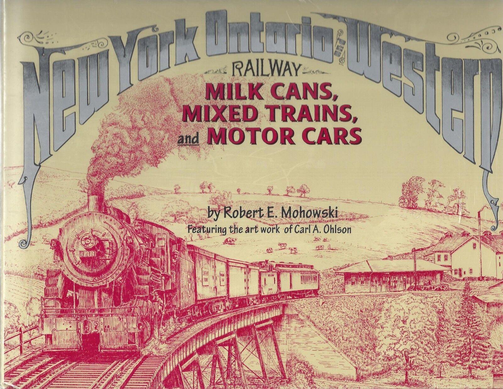 Nuovo York,Ontario e Occidentale Latte Lattine,Misto Treni Motore Auto  Nuovo
