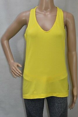 2019 Neuer Stil Womens Reebok Cross Fit Yellow Performance Tank Top (tga14) Rrp £19.99
