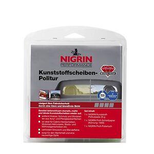 nigrin kunststoffscheiben politur heck plexiglas acryl cabrio auto kunststoff ebay. Black Bedroom Furniture Sets. Home Design Ideas