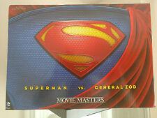 SDCC MATTEL EXCLUSIVE Man of Steel Movie Masters SUPERMAN vs. GENERAL ZOD