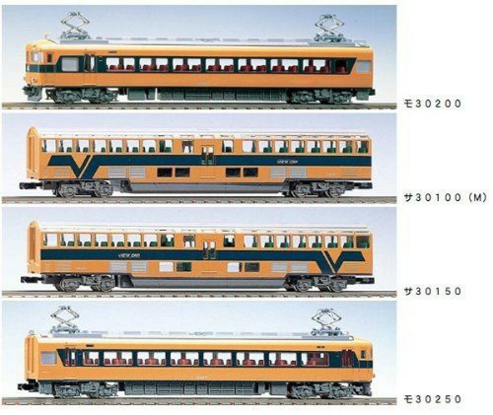 N spårvidd Kintetsu 30000 system vista bil 92049 F  S