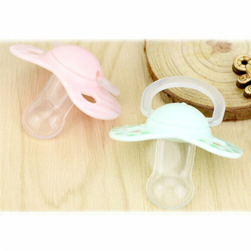 Newborn Baby Silicone Orthodontic Soother Dummy Pacifier Infant Teat Nipple YW