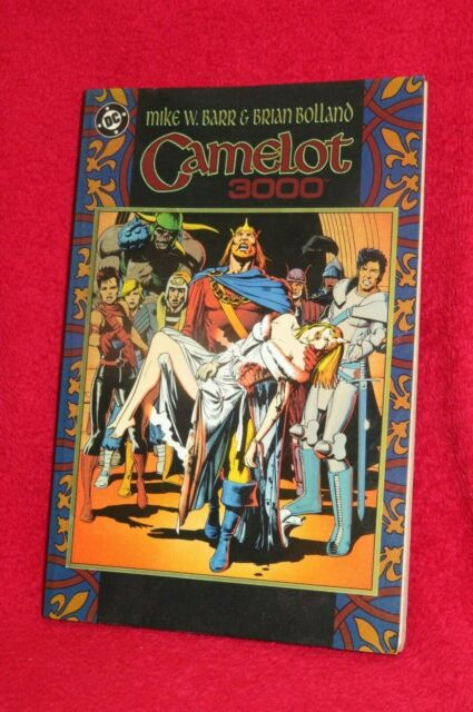Camelot 3000 by Mike W. Barr & Brian Bolland. Paperback 1988. DC.