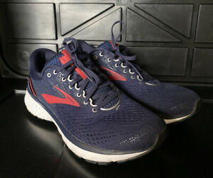 Brooks Ghost 11 Blue Red 1102881D428