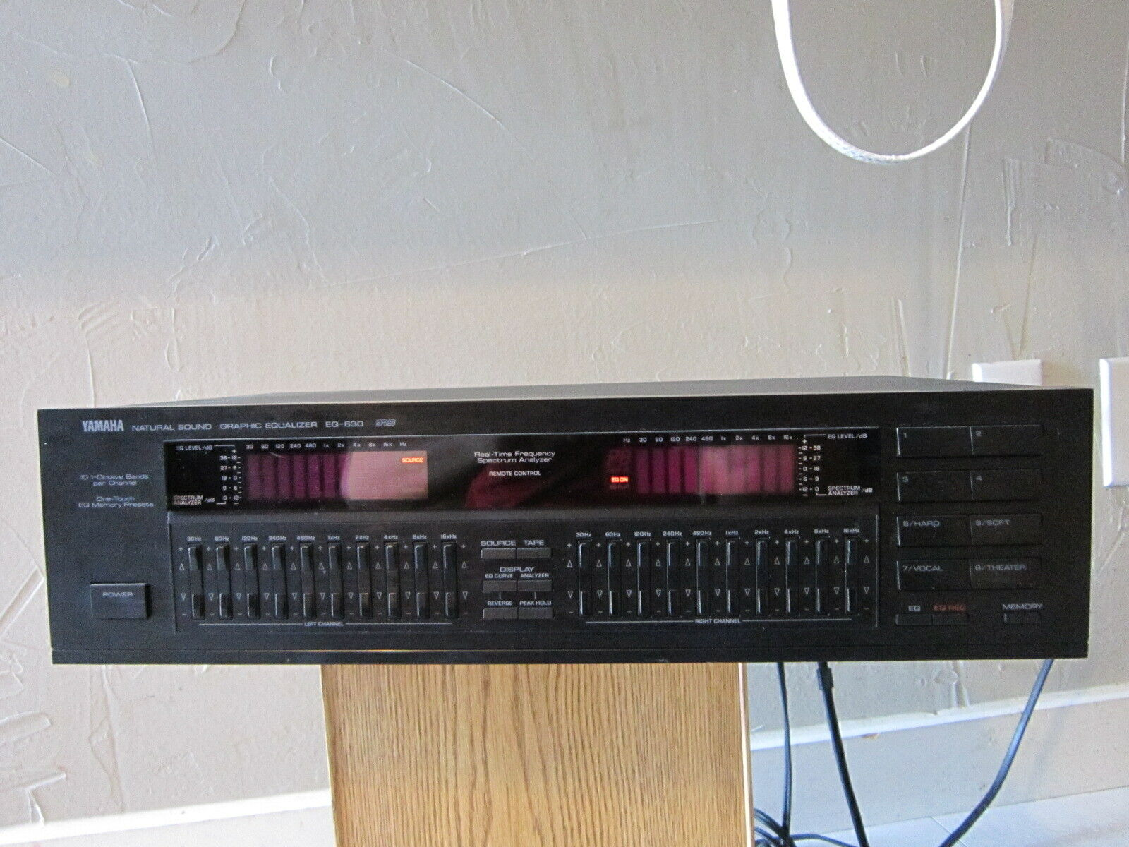 Yamaha Mod. EQ-630 Natural Sound Graphic Equalizer . Buy it now for 499.99