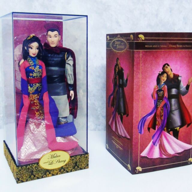 mulan limited edition doll ebay