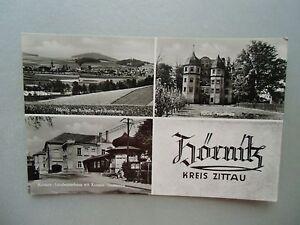 Ansichtskarte Hörnitz Kreis Zittau 1957 Gaststätte laden Ferienheim