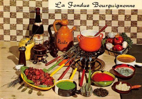 Cpsm Rezept Küche Emilie Bernard La Fondue Burgund n 33 Nicht Verzahnt