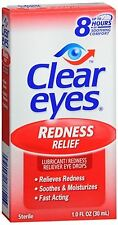 Clear Eyes Redness Relief Drops 1 oz