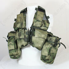 12 Pocket Mil-Tacs FG Camo Tactical Vest - Assault Combat Airsoft Paintball New