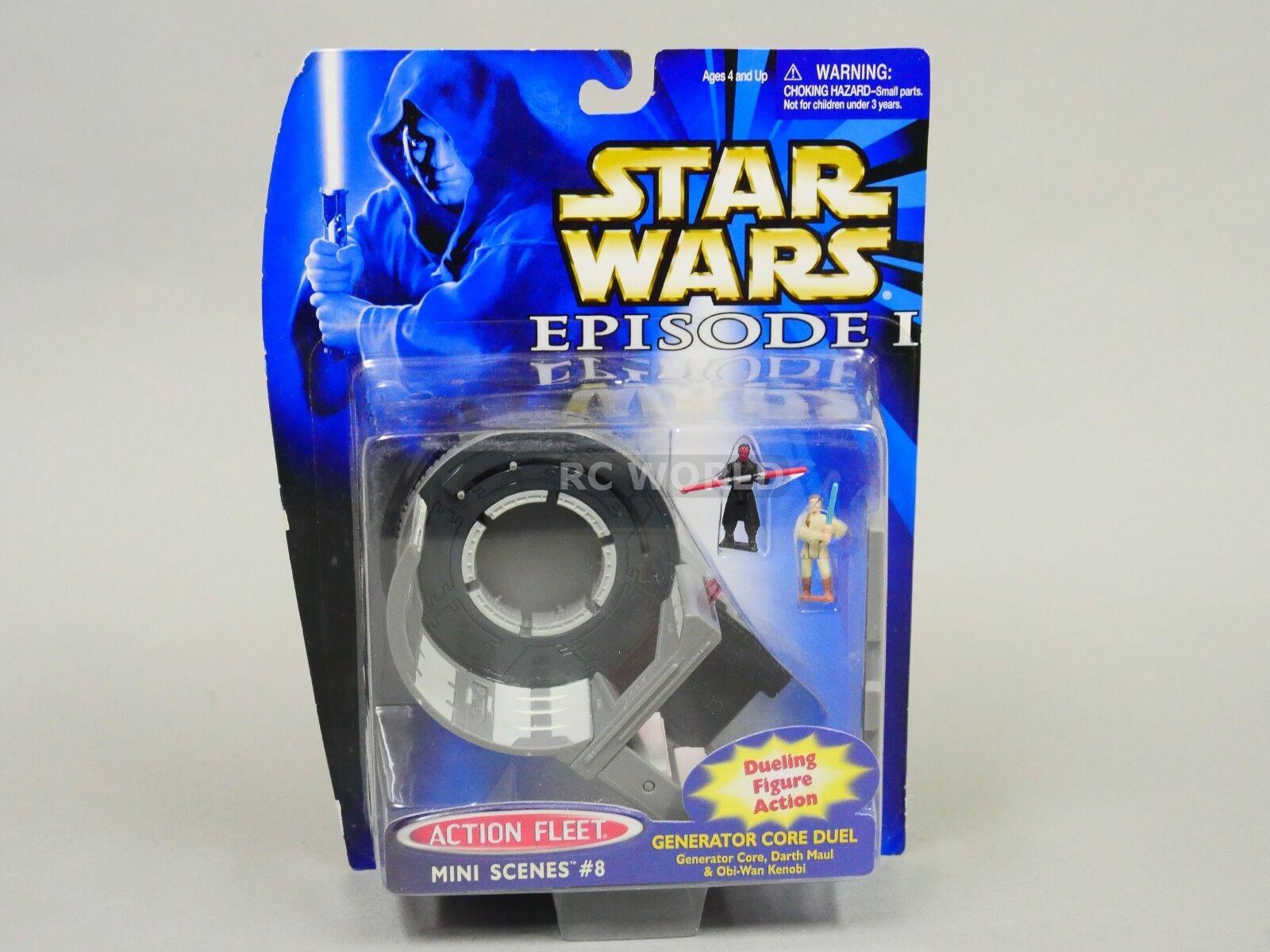 Star Wars Action Fleet Mini Scenes GENERATOR CORE CORE CORE DUEL   f4 cb47f0