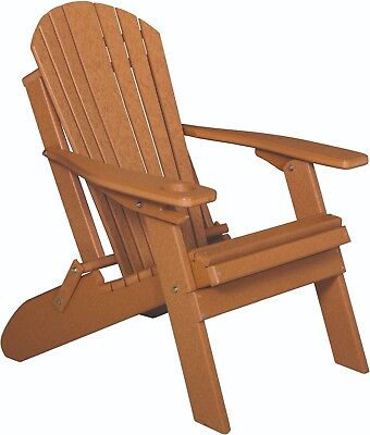 Folding Adirondack Chair Amp Cup Holder Poly Lumber Wood
