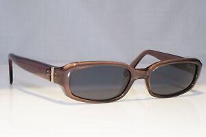 VERSUS-Mens-Womens-Vintage-Designer-Sunglasses-Brown-Rectangle-E99-545-21446