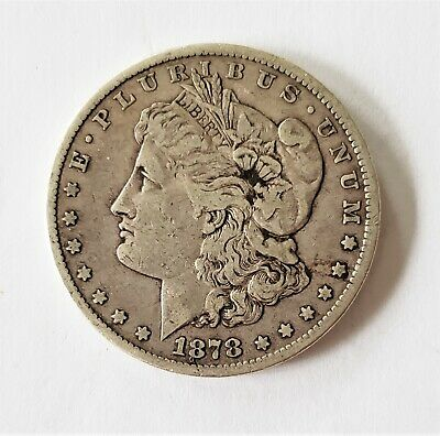 1878-1892 Morgan Silver Dollar 1 Coin CC Carson City Mint $1 AG-VF F Liberty