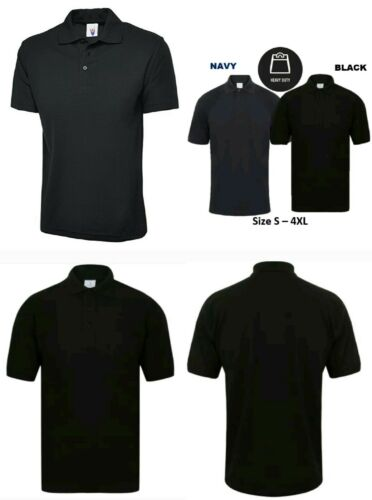 Heavy Duty Casual Work Wear Short Sleeve Top Quality Men/'s Polo Shirt T-Shirt