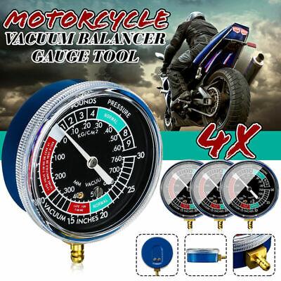 Sincronizador de Balanceador de Vac/ío Carburador de Motocicleta de Azul