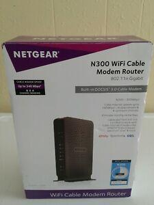 NETGEAR N300 WiFi Cable Modem Wireless