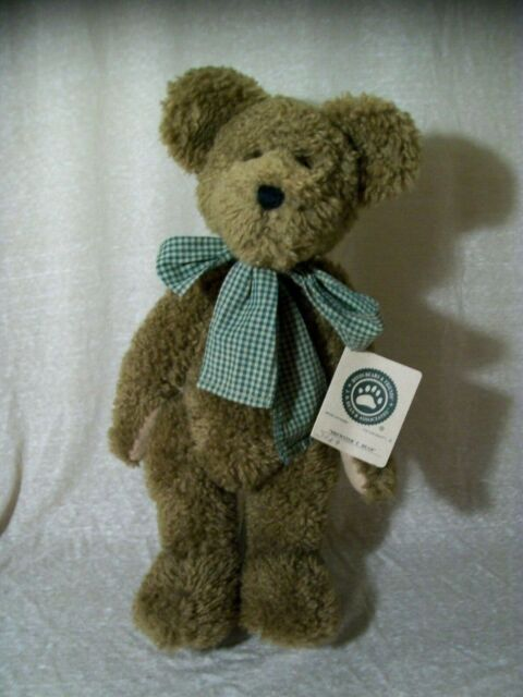 "Boyd/'s Bears /""Espresso Frisky/"" Gingham 6/"" Hanging Cat"