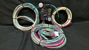 s l300 21 circuit ez wiring harness chevy mopar ford hotrods universal x ez wiring kits at alyssarenee.co