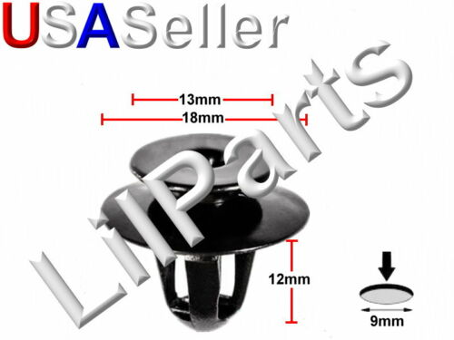Trim Panel Retainer Rivet For BMW 51498123832 51490151605 51-49-812-3832 A22057