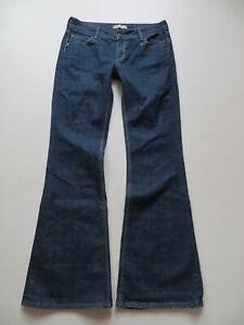 Levi-039-s-479-Booty-Flare-Schlag-Jeans-Hose-W-32-L-34-dark-Indigo-Denim-TOP