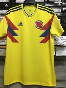 8962b9130 Adidas Colombia Home Jersey 2018-19 Yellow Blue Red Size Medium Only ...