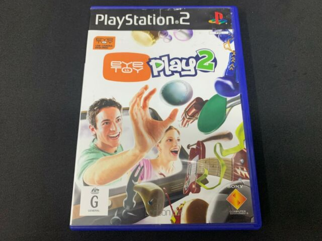 EyeToy: Play 2 Sony PS2 Game *No Manual* (PAL)