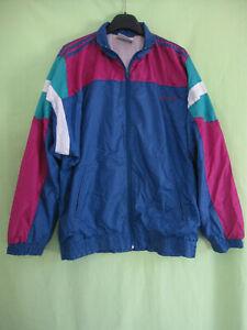 Le Meilleur Veste Adidas Team Nylon Polyamide 90's Marine Bordeaux Vintage Jacket - 162