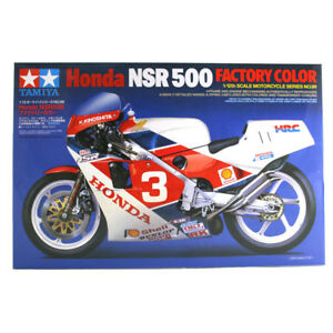 Tamiya-Honda-NSR500-Factory-Color-Model-Kit-Scale-1-12-NEW