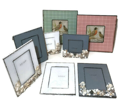 Wooden Picture Photo Frame Shabby Chic Vintage Home Gift Decoration Decor