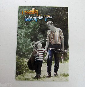 Leanin-Tree-Father-039-s-Day-Greeting-Card-Funny-Love-Multi-Color-Fathers-FD14