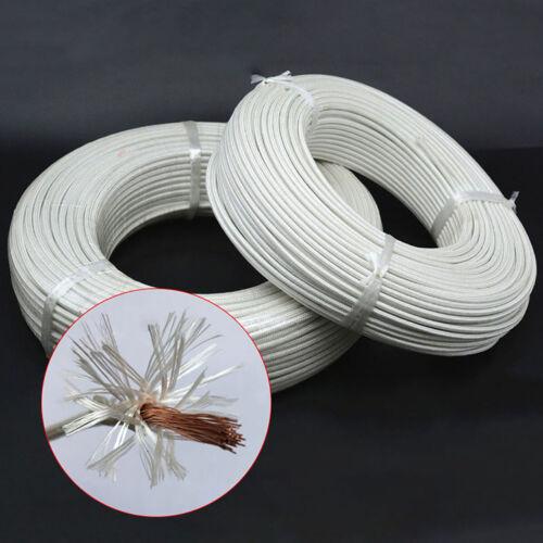Heat Resistant High Temperature Glass Fibre Wire cable 500C
