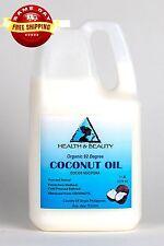 COCONUT OIL 92 DEGREE ORGANIC by H&B Oils Center COLD PRESSED 100% PURE 7 LB