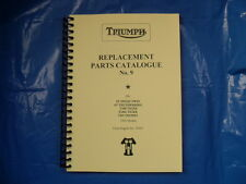 TRIUMPH PRE-UNIT PARTS BOOK FOR 1953 6T,5T,TR5,T100+C