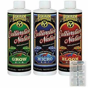 FoxFarm-Cultivation-Nation-Liquid-Fertilizer-Grow-Micro-Bloom-Pint-each