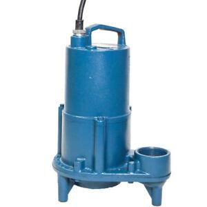 Barnes EHV412 - 1/2 HP Cast Iron Effluent Pump (Non ...