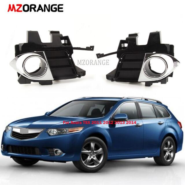 Fog Light Covers Trim For Acura TSX 2011-2014 Fog Lamps