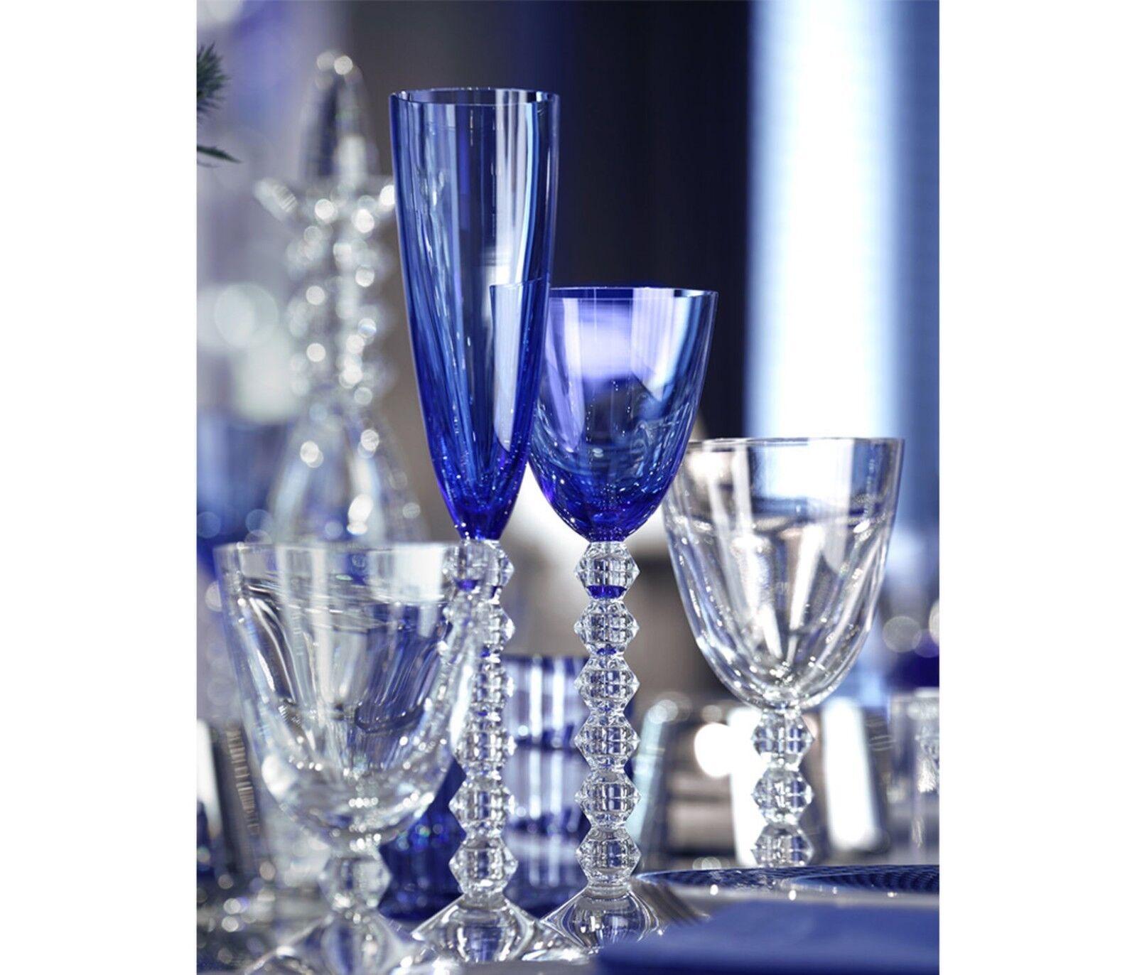 Nuovo Set da 2 Vega Baccarat Cristallo Acqua Calice  1 Vetro Americano